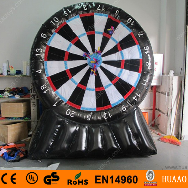 Free Shipping Airtight Inflatable Dart Board Game with CE pump font b arrows b font