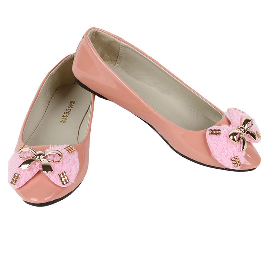 Women Casual Flats Comfortable Wear Boat Shoes Bowtie Pointed Toe Fashion Style Cute Female