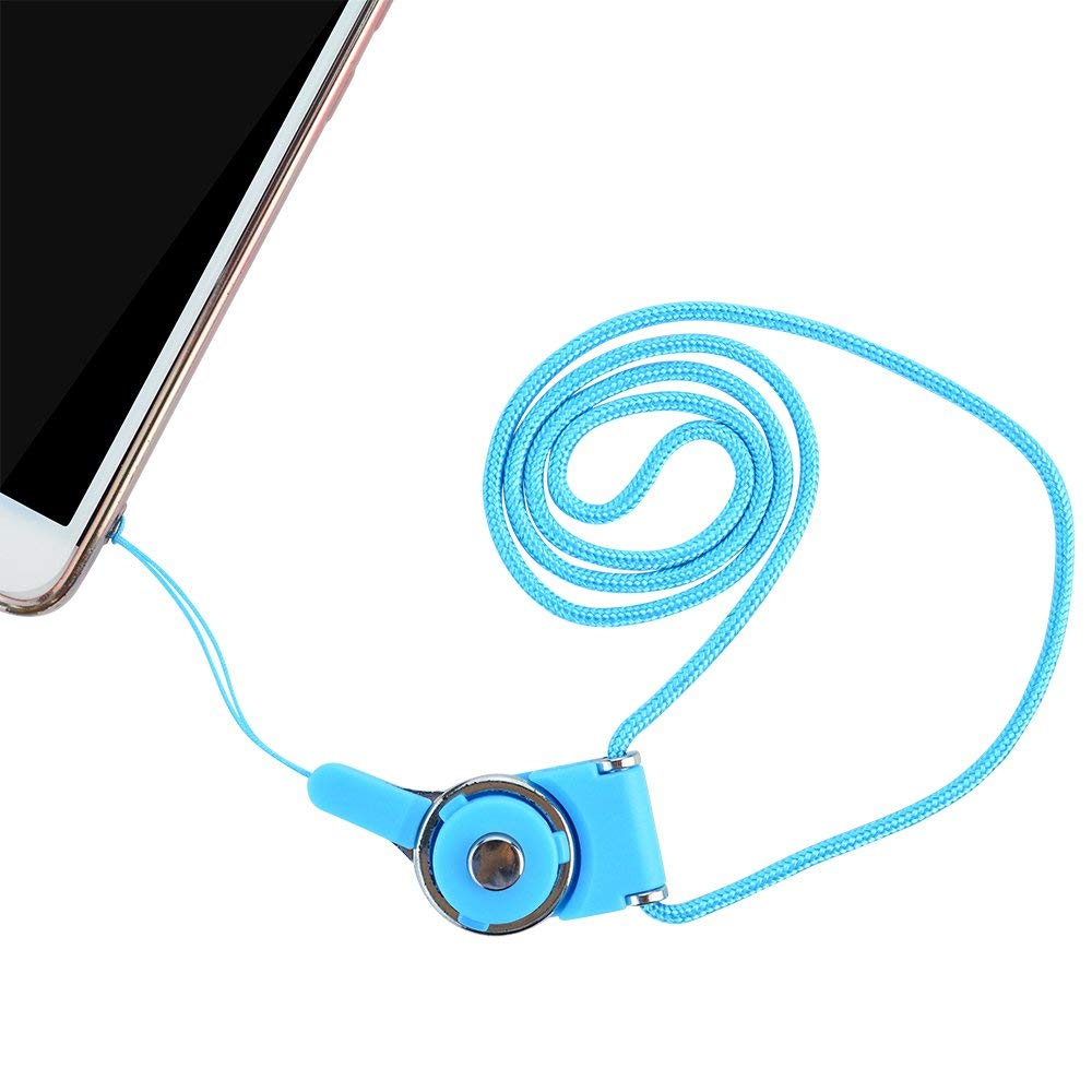 Ascromy Detachable Long Neck Straps Band Lanyard for iPhone X XS Xiaomi Redmi Note 5 Cell Phone Camera Key ID Card Badge Holder (5)
