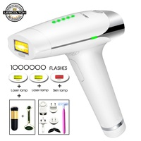 Original Lescolton 3in1 IPL Laser Hair Removal Laser Epilator Hair Removal Permanent Bikini Trimmer Electric depilador a laser