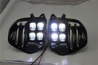 LED Fog Light Lamp Daytime Running Light Set For KIA Sportage QL kx5 2016 2017+ Auto Car White LED DRL Light For KIA KX5