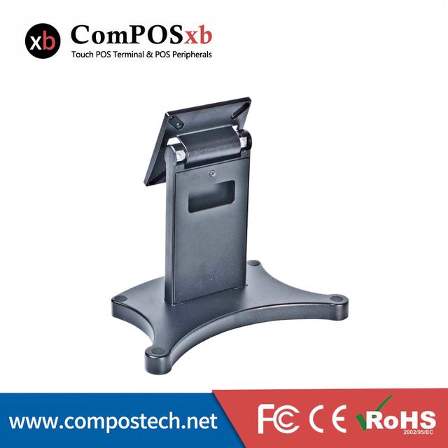Fábrica de 15 polegada POS Tela de Toque LCD Monitor de Heavy duty Suporte De Metal