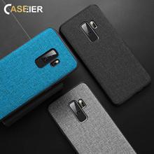 CASEIER Hot Cloth Case For Samsung Galaxy A7 A6 A8 Plus 2018 S10 S10E Note 8 9 S8 S9 S7 Edge J7 Cover Capa