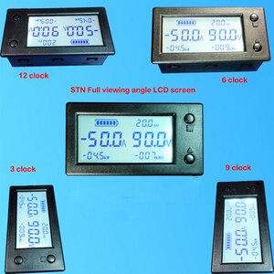 Image 3 - 50A 100A 200A 400A STN LCD Hall Coulomb mètre compteur tension amplificateur de courant capacité indicateur affichage eBike voiture Isolation moniteur