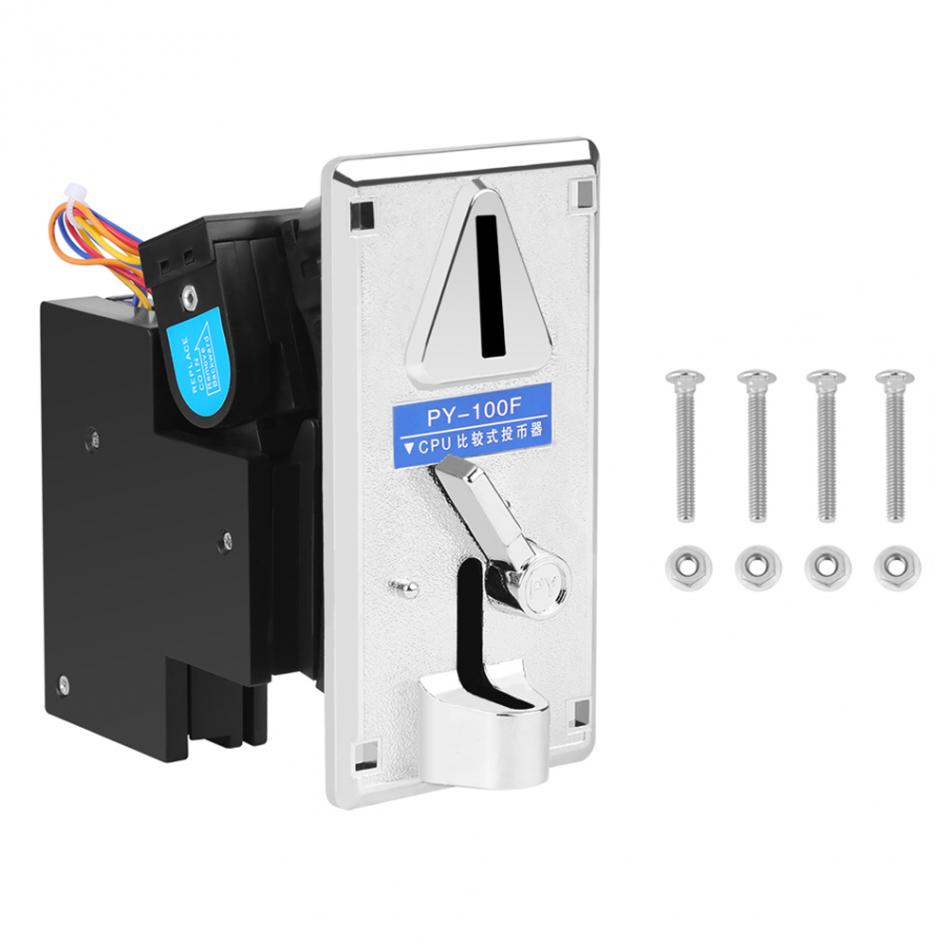 Advanced CPU Coin Selector Acceptor Sorter for Arcade Game Kit High Quality 2pcs multi coin selector coin acceptor specially designed the parameters extensive use for condom vending snack vending machine