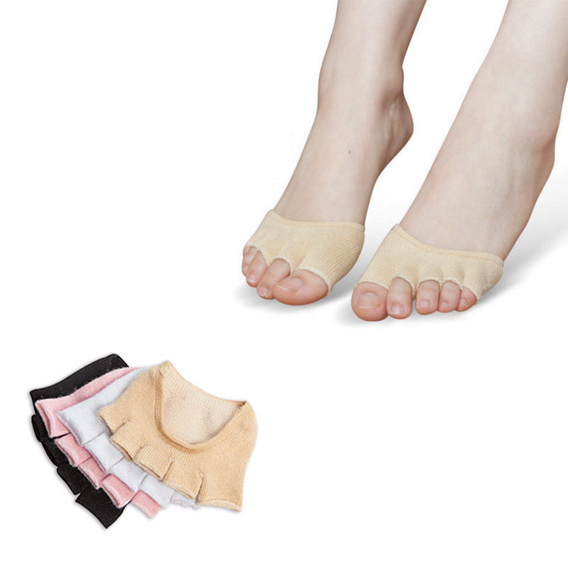 the sock knitter s workshop men and women before the summer half foot contact sock toe toe socks Fingerless Half Finger five toe fish mouth Yoga