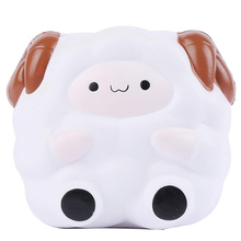 Jumbo Cute Sheep Squishy Simulation Soft Slow Rising Squeeze Toy Cream Scented Stress Relief novelty Fun Toys Gift for Children