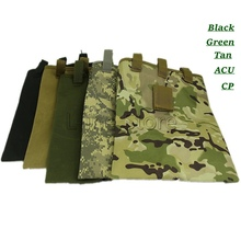 Belt Magazine Pouch Tactical Hunting Army Paintball Molle Dump Drop Pouch for Belt Vest