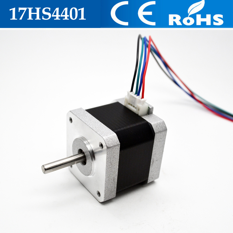 High Quality Nema17 Stepper Motor 4-lead 42 Motor Nema 17 Motor 42BYGH 1.5A (17HS4401) 3D Printer Motor For CNC XYZ поводок для собак happy house luxury цвет темно коричневый длина 125 см