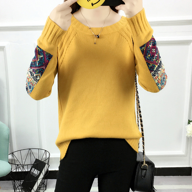 3c44d553e 2018 New Women Sweaters and Pullovers O Neck Long Sleeve Autumn ...