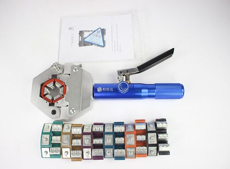 Bonne qualité 71550 manuel A/C tuyau sertisseur kit; AC outils de réparation; outils de sertissage de tuyau à main; sertisseur de tuyau; machine à sertir les tuyaux