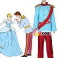 Мужчины хэллоуин костюмы На Заказ disnye prince prince prince Золушка косплей костюм для взрослых косплей костюм костюм