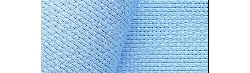 jcs top quality 11ct 11st 14st 14ct aida cross stitch canvas light blue sky blue color - Light Sky Blue Color
