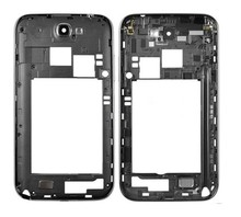 Gray and White Original Middle Housing Frame Repair Parts For Samsung Galaxy Note 2 II N7105 free shipping
