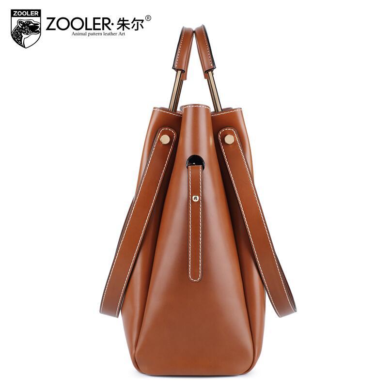 free delivery Genuine Leather  Women bag   new shoulder Messenger bag Fashion package mother Bucket bag167