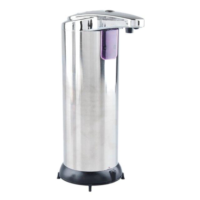 280 Ml Automatische Sensor Seifenspender Basis Wand Edelstahl Touch Kostenlose Sanitizer Dispenser Für Küche Bad