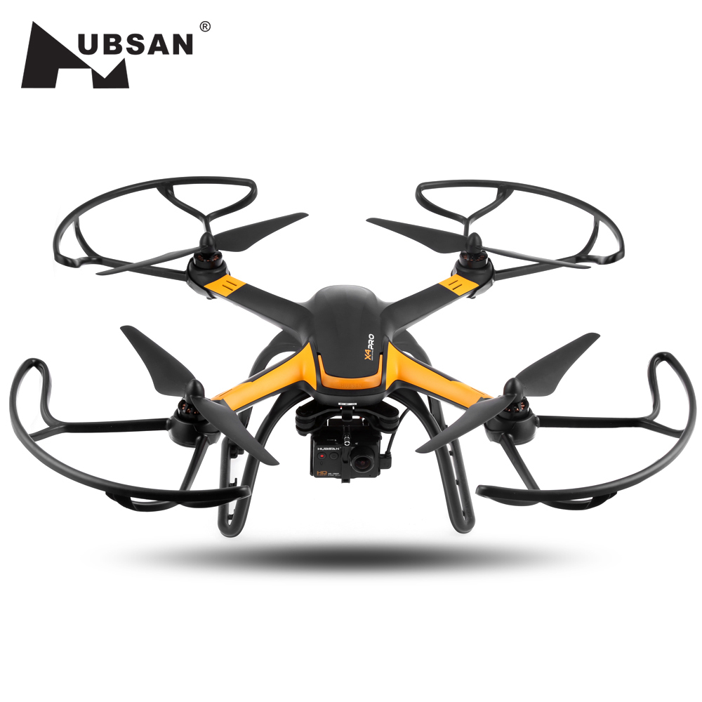 H109S Hubsan X4 PRO Cmera Drone 5.8G FPV 1080 P HD fotocamera GPS 7CH RC Quadcopter con 1-axis Gimbal Brushless RC Drone