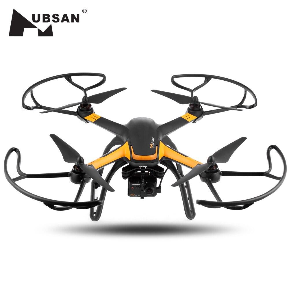 Hubsan H109S X4 PRO Cmera Detección de Drone 5,8g FPV 1080 p HD Cámara GPS 7CH RC Quadcopter con el 1-eje cardán sin escobillas RC Drone