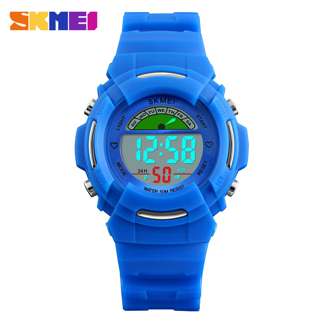 Children's Watch SKMEI Brand Digital LED Kids Clock Cute watches Fashion Sport W