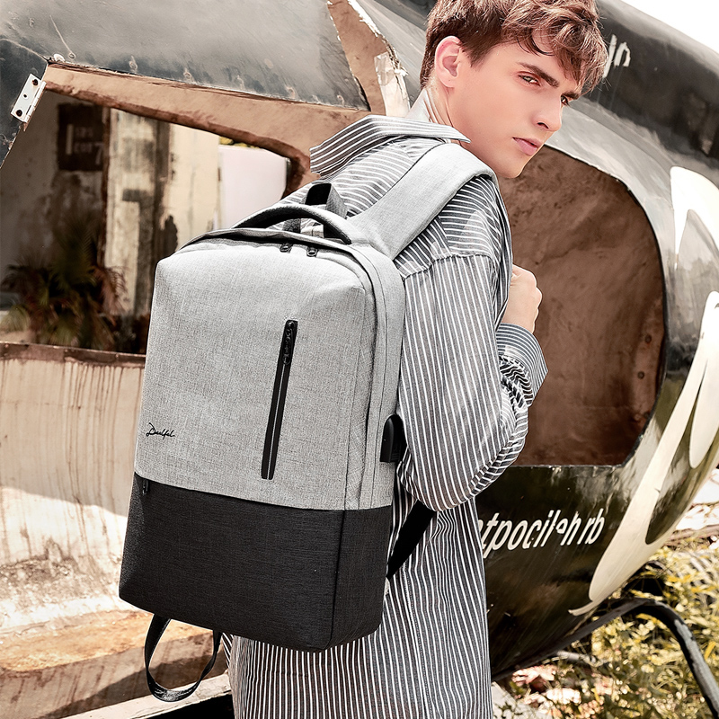 Deelfel אנטי גנב USB bagpack 15.6 אינץ מחשב נייד תרמיל לנשים גברים בית ספר תרמיל תיק עבור ילד בנות זכר נסיעות המוצ 'ילה
