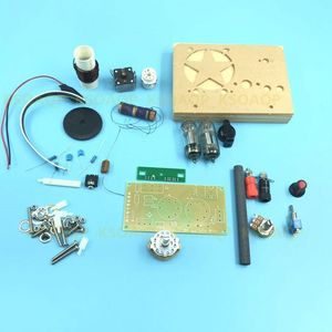 Image 3 - Электронная трубка постоянного тока, средняя/короткая волна, двухстороннее радио, два диапазона, электронная трубка, радио Набор diy kit