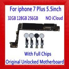 Заводская разблокированная для Apple iphone 7 Plus материнская плата без сенсорного ID/с сенсорным ID 100% оригинал для iphone 7 Plus 5,5 дюймов материнская плата