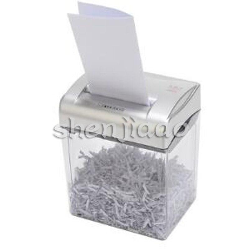 Mini Electric Paper Shredder  office equipment broken electric separation crushers Broken paper/card  1pc