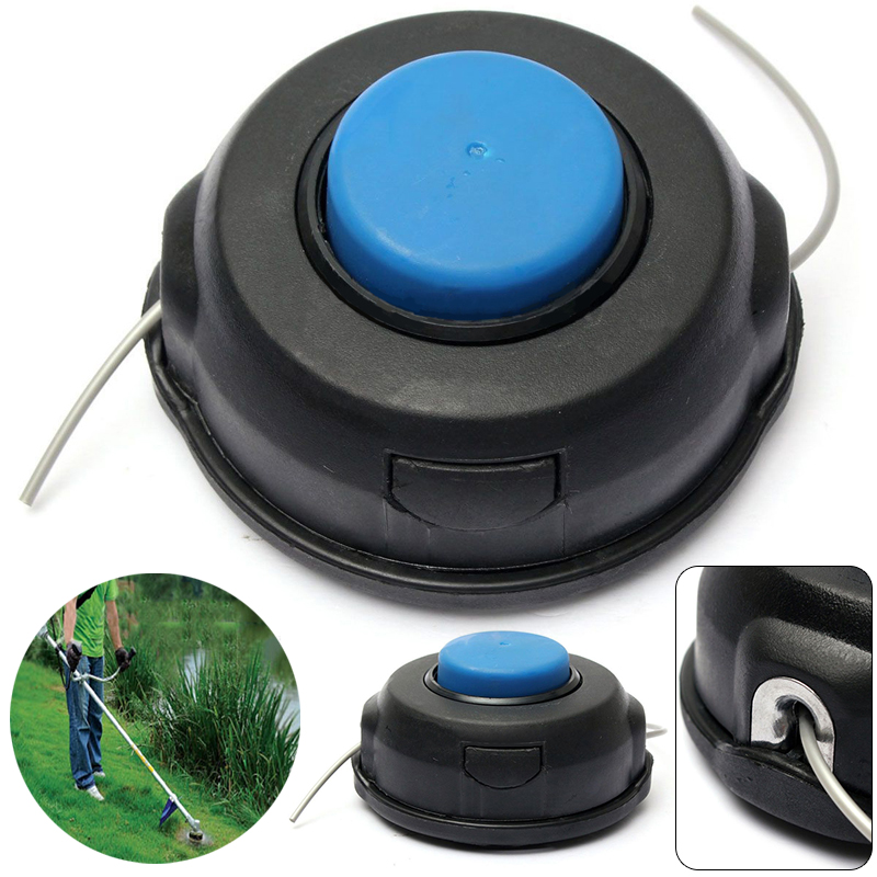 Nylon Line String Trimmer Head Cutting Trimmer Head For Brushcutters Strimmers Replacement Garden Tools Mayitr 1pcs nylon line brush cutter head garden lawn mower bump grass brush trimmer head garden repalcement tools black
