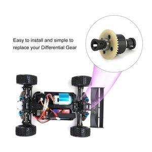 Image 5 - 1/18 RC Car Transmission Differential Gear A949 23 for Wltoys Off road Buggy A949 A959 A969 A979 K929 Spare Parts Accessory