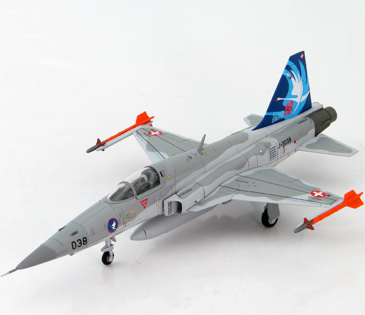 1:72 HA 3322 Swiss Air Force F-5E Tiger II 58th Tactical Fighter Wing Luke Air Force Base Static Simulation Model золотые серьги ювелирное изделие 103502