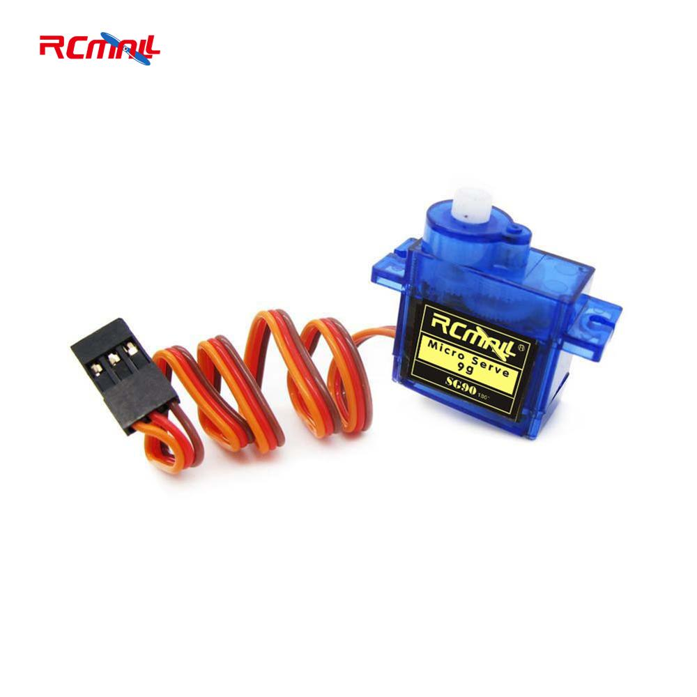 где купить RCmall 9g SG90 Mini Servo motor 180 Degree For QAV250 450 RC Quadcopter Helicopter Airplane Car Boat Analog Servo FZ0101-RC по лучшей цене