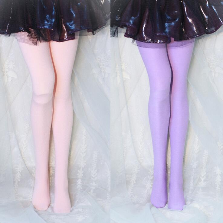 New 1/3 1/4 1/6 SD MSD YOSD BJD Doll Clothes White / Black / Purple / Pink Pinkycolor Pantyhose 1pair new fashion sd bjd doll accessories casual shoes for bjd doll 1 4 1 3