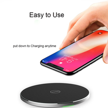 Jujube 10W Qi Wireless Charger Quick Charging Pad Quick Charge 3.0 Fast Charger Wireless-charger For iPhone X 8  Samsung Note 8