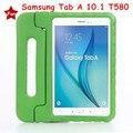Портативный EVA Стенд Case Cover For Samsung Galaxy Tab A 10.1 2016 T580 T585 T580N T585N Tablet Case с Экрана протектор
