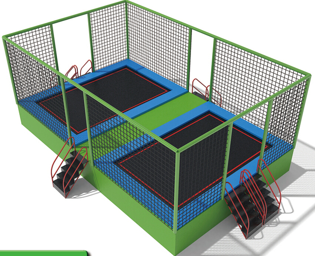 Factory Price Kids Indoor Trampoline Ce Certicated Indoor