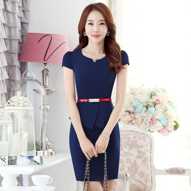 High Quality 2016 Hot Sale New Arrival Office Uniform Designs Women