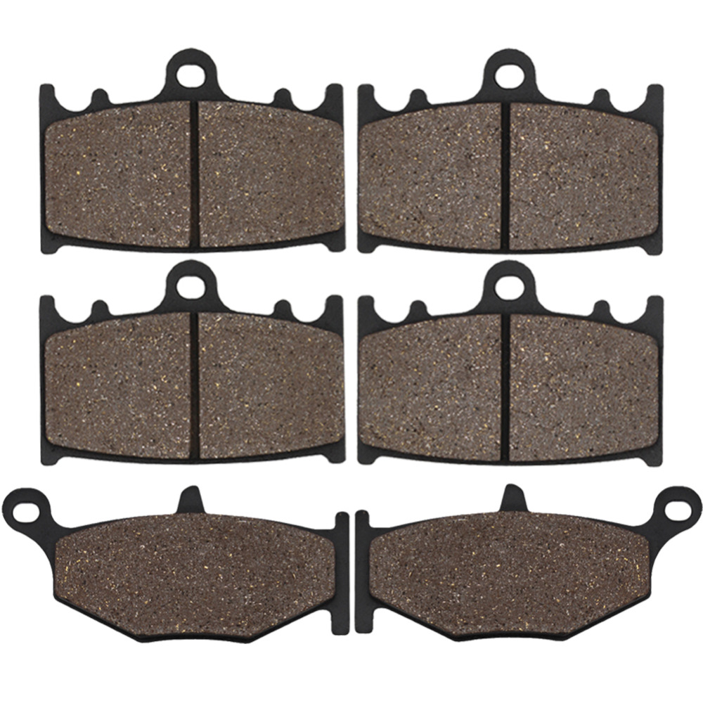 Cyleto Motorcycle Front and Rear Brake Pads for Suzuki GSR400 GSR 400 K6 2006 GSR600 GSR 600 K6 K7 K8 2006 2007 2008 2009 2010 20pcs lot phd55n03lt