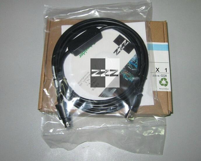 USB Programming Cable for Schneider Modicon TSX PCX3030 TSXPCX3030 485 to USB, ,FAST SHIPPING tsxpcx3030 is for tsx premium 57 tsx micro 37 tsx nano 07 tsx naza 08 and twido plc programming with master slave switch