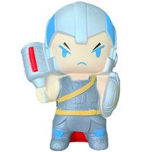 Kawaii Jumbo Avengers Thor Squishy Slow Rising Cartoon Doll Creative Soft Squeeze Stress Relief for Kid Baby Xmas Fun Gift Toy