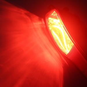 Image 5 - 1 paar Auto Heckschürze Nebel Licht Lampe Rot Reflektor Schwanz Lampe für Jeep Cherokee 2014 2015 2016