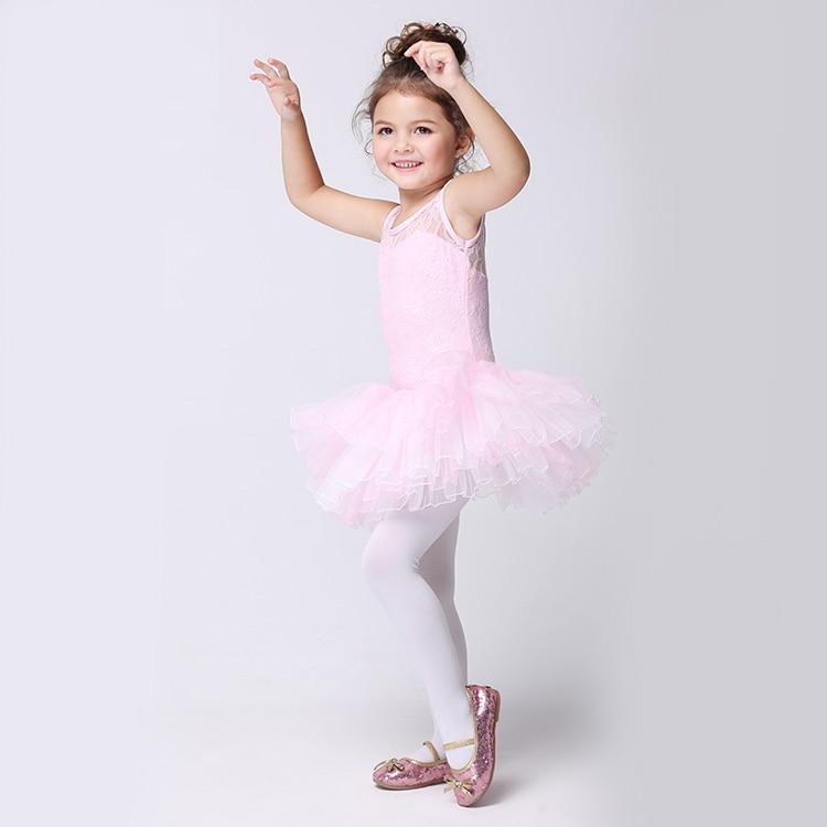 736bbf7df 2 10Y Child Sleeveless Dancing Dress Kids Pancake Tutu Ballet ...