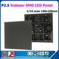 Крытый P2.5 полноцветный RGB из светодиодов матричный жк-модуль 160 * 160 мм 64 * 64 пикселей 2.5 мм для из светодиодов вывеска