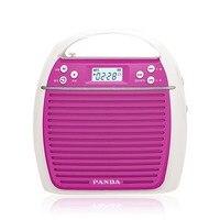 Radio Panda k31 Multifunctionele onderwijs versterker draagbare high power vierkante dans outdoor speaker