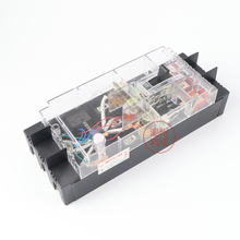 Transparent molded case circuit breaker 3p DZ15LE-100/390 leakage protector three-phase three-wire air switch three phase four wire earth leakage circuit breaker dz20le 400 4300 4p 350a black