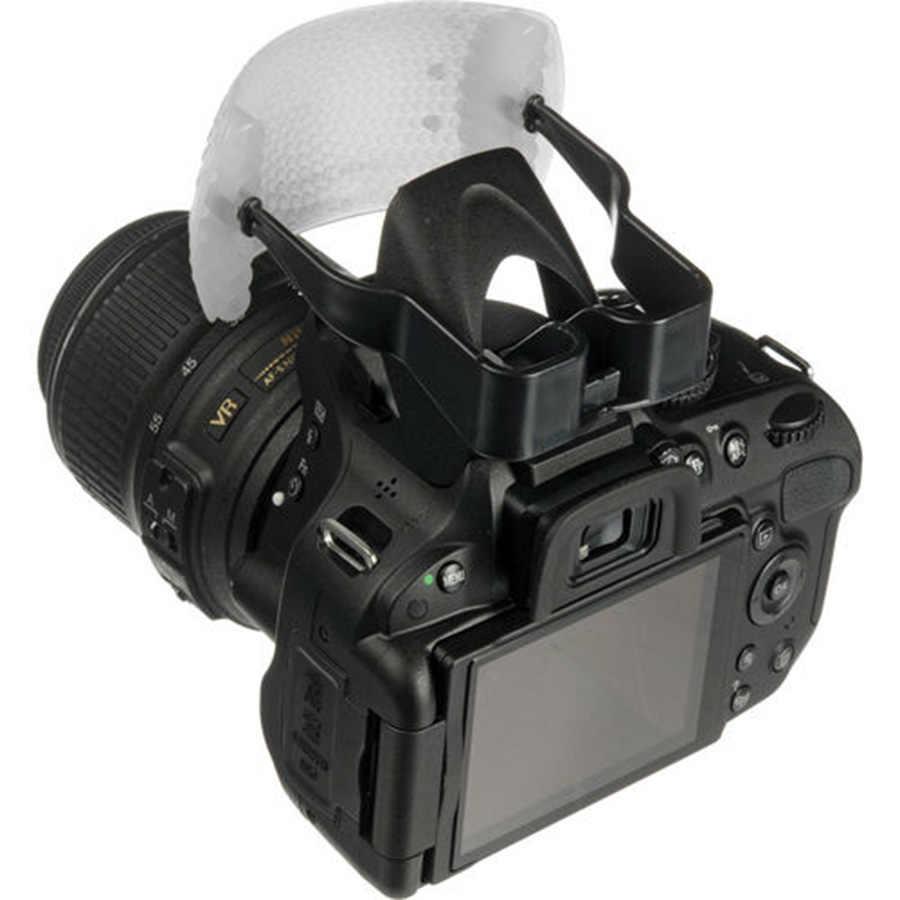 Biały kolor Puffer Pop-zapalić błysk miękki dyfuzor kopuła dla Canon Nikon Pentax DSLR