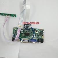 kit for LP156WF4(SP)(J1) Controller board HDMI VGA LCD M.NT68676 1920*1080 30pin EDP LG display DVI 60Hz Panel Screen 15.6 LED