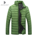 ZEESHANT Autumn Solid Men Women Jackets Spring Men's Cotton Blend Mens Jacket and Coats Casual Thick Outwear in Men's Parkas