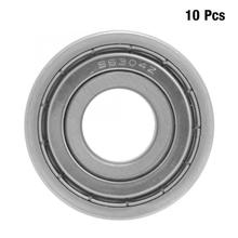 10Pcs 20*52*15mm 6304-ZZ Sealing Bearing Steel Deep Groove Ball Bearing bearing axial rodamientos Power Transmission Parts