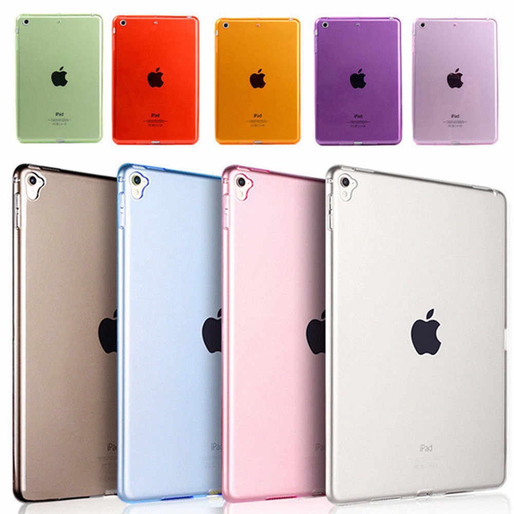 Colorida funda de silicona para iPad Mini 1 2 3 4 funda transparente de tableta para Apple iPad funda de 7,9 pulgadas carcasa trasera de TPU suave