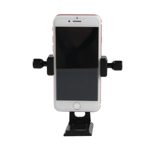 Image 5 - Adjustable Tripod Mount Adapter Vertical 360 Rotation Phone Clipper Stand for iPhone X 8 7 Huawei Samsung